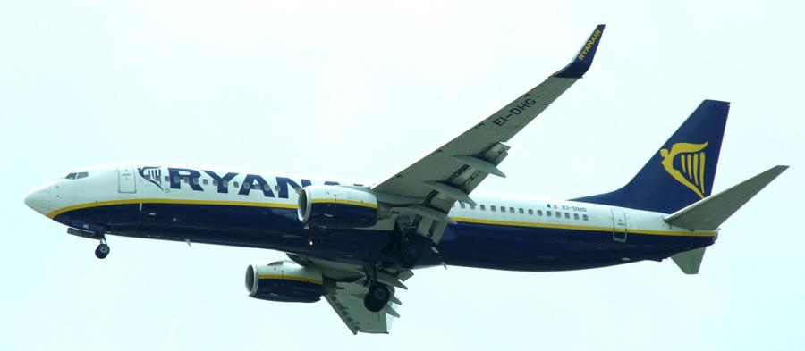 Ryanair-Aeronave