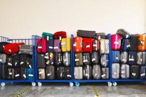 Carro con equipaje