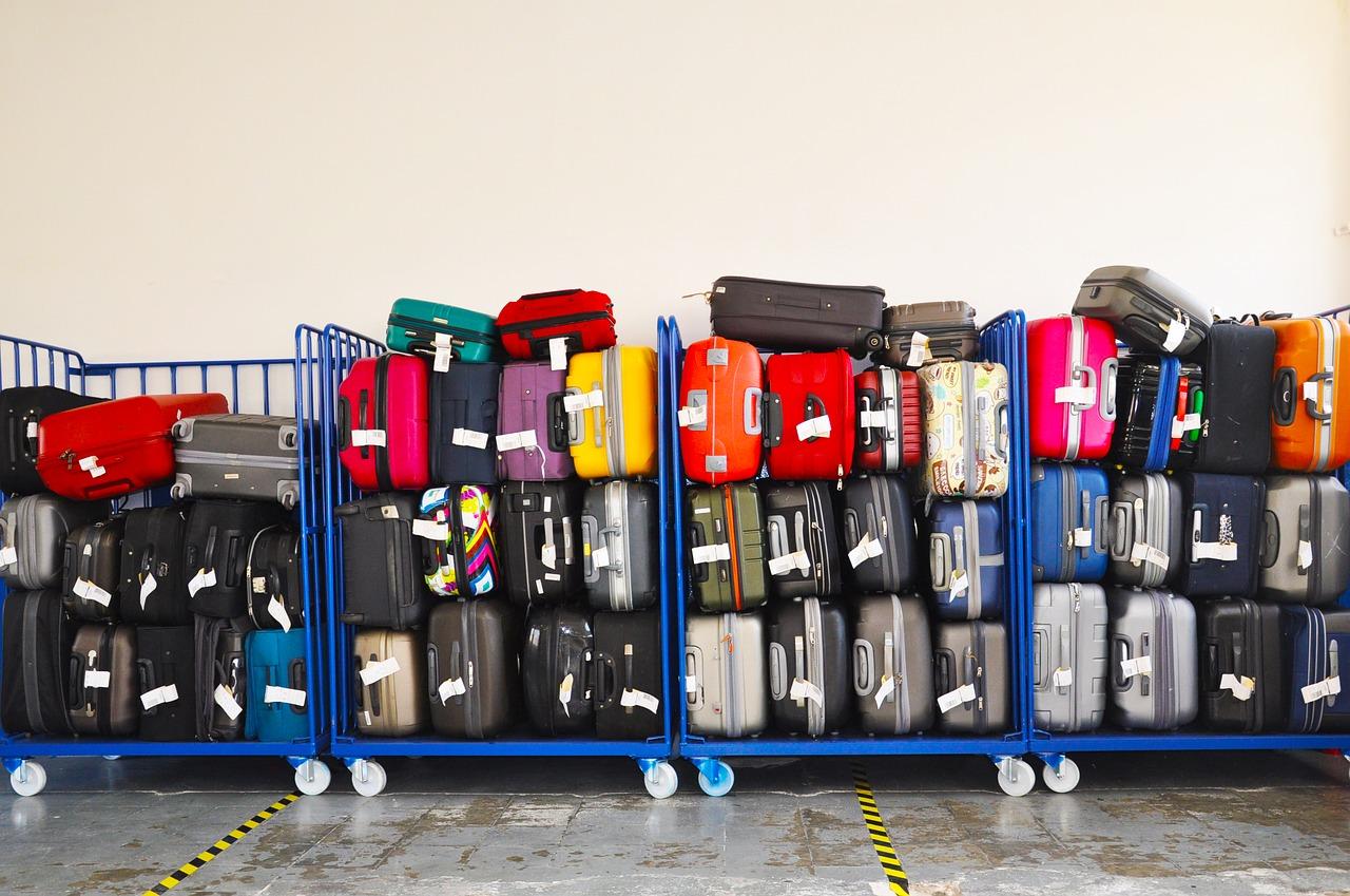 Maletas con chip para rastreo y evitar pérdidas de equipaje