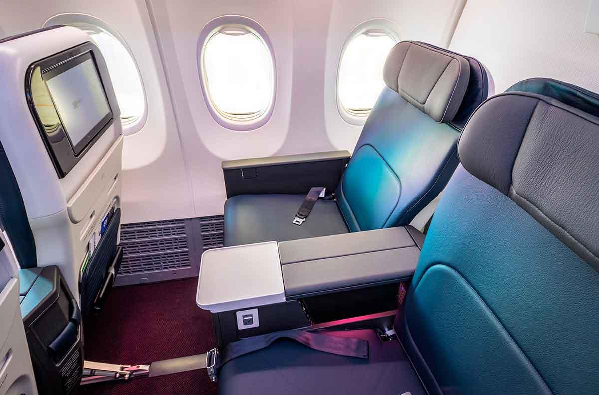 Clase premier de un Boeing 737 Clase premier