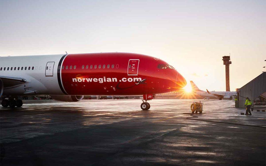 Norwegian ofrece 6,2 millones de plazas en España para el verano