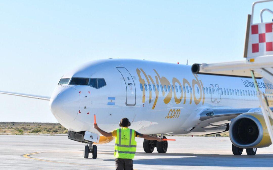 Flybondi, sube a tercera aerolínea más grande en Argentina