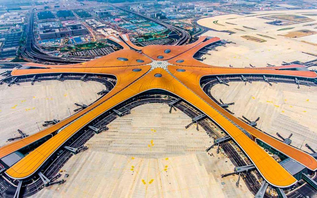 Así es el nuevo y espectacular Aeropuerto Internacional de Pekín-Daxing